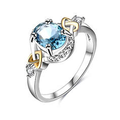 Shining Alloy Women's Fashion Rings