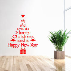 Christmas Rectangle Wall Stickers