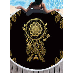Dreamcatcher Oversized/round Beach Towel
