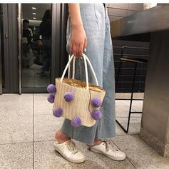 Attractive Cotton Shoulder Bags/Beach Bags/Bucket Bags