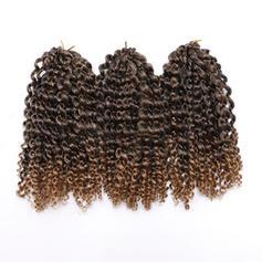 Frisé cheveux synthétiques Tresses de cheveux (Ensemble de 3) 80g