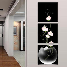 Traditional Vertical Floral Paintings
