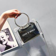 Transparente PVC Sac en bandoulière/Portefeuilles et Bracelets