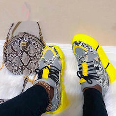 Women's Leather Casual Outdoor With Split Joint shoes