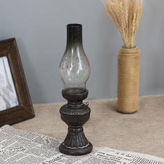 Vintage Classic Resin Glass Candle Holders