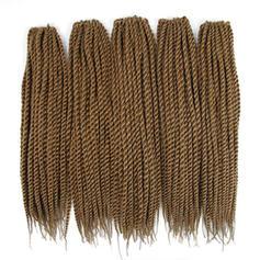 Tout droit cheveux synthétiques Tresses de cheveux (Vendu en une seule pièce) 100 g