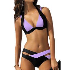 Triangle Low Waist Halter Sexy Plus Size Bikinis Swimsuits
