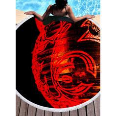 Geometric Print fashion Beach Towel