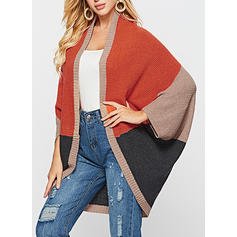 Color Block Ribbed Cardigan