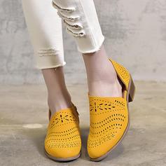Femmes PU Talon bas Sandales chaussures