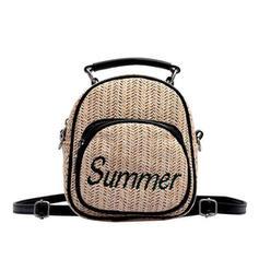 Elegant Linen Backpacks