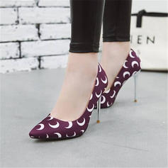 Women's Velvet Stiletto Heel Pumps With Others shoes