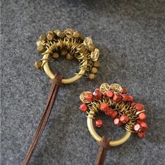Exotique Alliage Corde en cuir Colliers (Vendu dans une seule pièce)