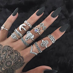 Fashionable Alloy Acrylic With Acrylic Women's Fashion Rings