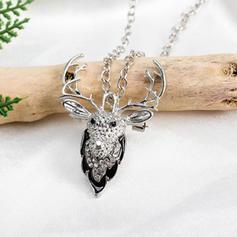 Unique Sexy Exotic Alloy Rhinestones Necklaces Christmas Jewelry