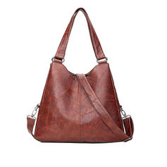 Pretty/Commuting/Solid Color Tote Bags/Shoulder Bags/Hobo Bags