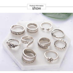 Unique Lovely Alloy Rings