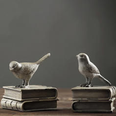 Casual Resin Bird Bookends