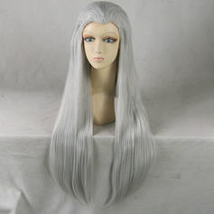 Straight Synthetic Hair Full Lace Cap Wigs