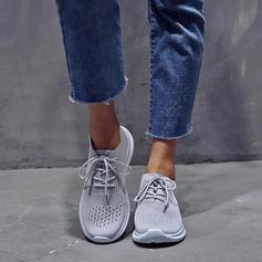Donna PU Casuale con Allacciato scarpe