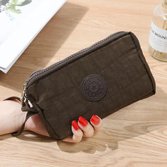 Women's Multi-layer Vintage Casual Zipper Canvas Wallets