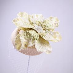 Damen Elegant Faux-Perlen/Tüll Kopfschmuck/Tea Party Hüte