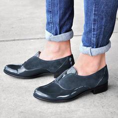 Donna Similpelle PU Tacco spesso Stiletto Punta chiusa con Cava-out Altrui scarpe