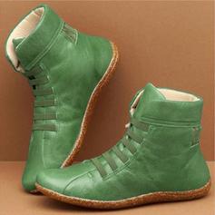 Жіночі ПУ Низька підошва Мартіновські черевики з Зашнурувати взуття