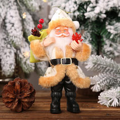 Merry Christmas Santa Plastic Cloth Doll