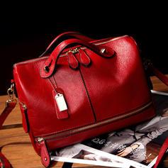 PU Leather Elegant Women Multi Pockets Crossbody Bag For Women