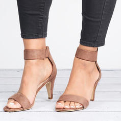 Mulheres Salto agulha Sandálias Bombas sapatos