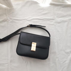 Elegante/Clássica/Vintage/Simples Bolsa de Ombro