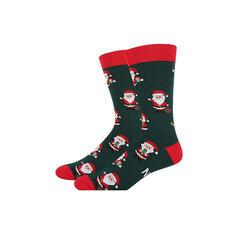 Print/Christmas Santa Comfortable/Christmas/Crew Socks/Unisex Socks
