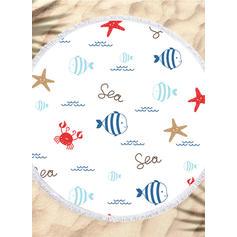 Animal Oversized/round Beach Towel