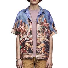 Herren hawaiisch Strand-Shirts