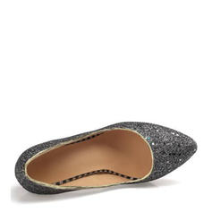 Donna Glitter scintillanti Tacco a spillo Stiletto Piattaforma con Paillette scarpe