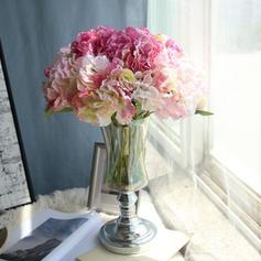 Hydrangeas Syntetická tkanina Hedvábné květiny (Sada 3ks)