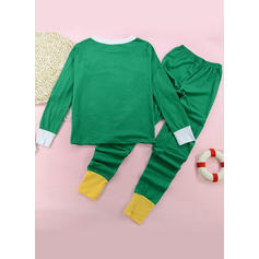 Color-block Family Matching Christmas Pajamas Pajamas