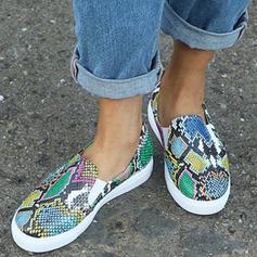 De mujer PU Casual al aire libre con Estampado de animales zapatos