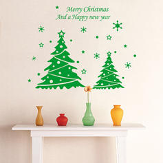 Modern Classic Christmas Any Shape Still Life Wall Stickers