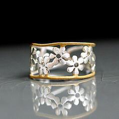 Fashionable Boho Flowers Alloy Women's Rings