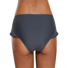 Solid Color Bottom Fashionable Plus Size Bottoms Swimsuits