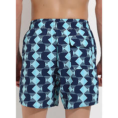 Print Bottom Men's Swimwear
