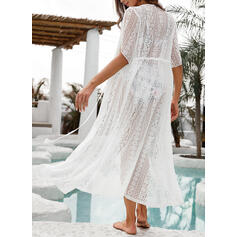 Solid Color Fashionable Beautiful Fresh Cover-ups Swimsuits