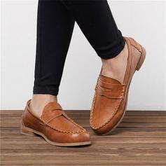 Frauen PU Flascher Absatz Flache Schuhe mit Andere Schuhe