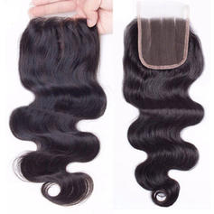 "4""*4"" 4A Body Human Hair Closure (Sold in a single piece) 40g"