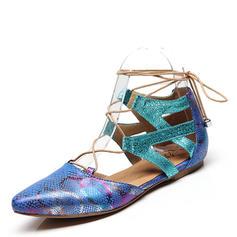 Femmes Latin Chaussures plates Similicuir Latin