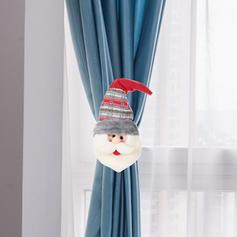 щасливого Різдва Сніговик Олені Санта Тканина Лялька Різдвяний декор