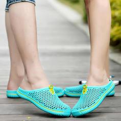 Naisten Mesh Matalakorkoiset Heel Tossut jossa Ontto-out kengät