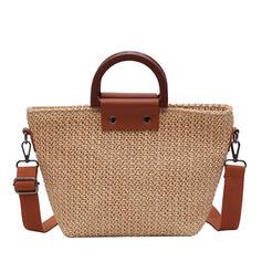 Elegante/De moda/Estilo bohemio/Trenzado Bolsas de mano/Bolsas de playa